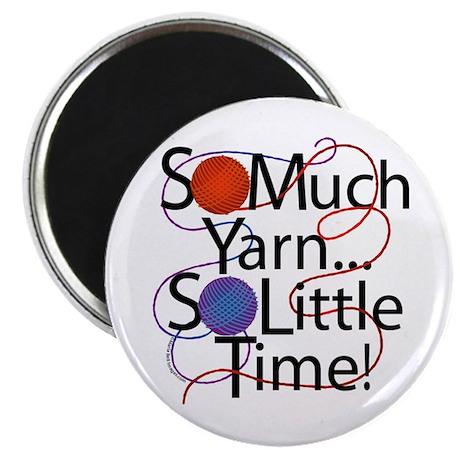 "So Much Yarn..... 2.25"" Magnet (100 pack)"
