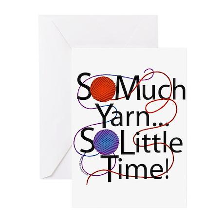 So Much Yarn..... Greeting Cards (Pk of 10)