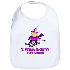 Born to Ski Hannah Bib