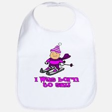 Born to Ski Hannah Bib