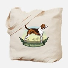 Treeing Walker Coonhound: Banner Series Tote Bag