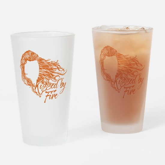 GOT Kissed By Fire Drinking Glass