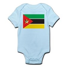 Mozambique Flag Infant Creeper