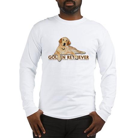 Golden Retriever Painted Long Sleeve T-Shirt
