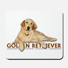 Golden Retriever Painted Mousepad