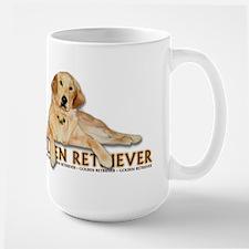 Golden Retriever Painted Mug