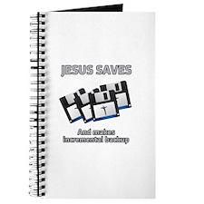 Jesus saves backups Journal