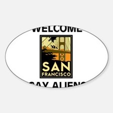 ALIENS PELOSI AND GAYS! Decal