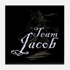 Team Jacob Werewolf Tile Coaster