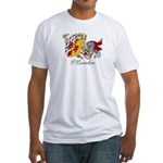 O'Quinlan Coat of Arms Fitted T-Shirt