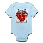O'Quin Family Crest Infant Creeper