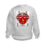 O'Quin Family Crest Kids Sweatshirt