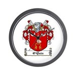 O'Quin Family Crest Wall Clock
