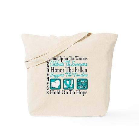 Ovarian Cancer StandUp Tote Bag