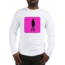 iFlirt (female version), Long Sleeve T-Shirt