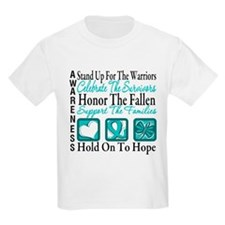 Ovarian Cancer StandUp T-Shirt