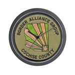 Cochise County Border Alliance Wall Clock