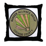 Cochise County Border Alliance Throw Pillow