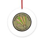 Cochise County Border Alliance Ornament (Round)