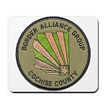 Cochise County Border Alliance Mousepad