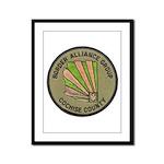 Cochise County Border Alliance Framed Panel Print