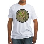 Cochise County Border Alliance Fitted T-Shirt
