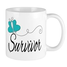 OvarianCancer ButterflyTrail Mug