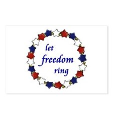 Freedom Ring Postcards (Package of 8)