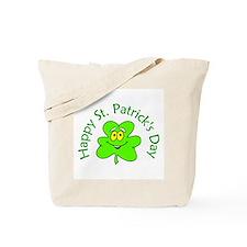 Happy St. Patrick's Day (shamrock) Tote Bag