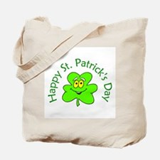 Happy St. Patrick's Day (shamrock) Tote Bag