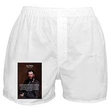 Leo Tolstoy Religion Morality Boxer Shorts