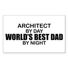 World's Greatest Dad - Architect Decal