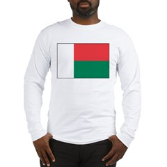 Madagascar Flag Long Sleeve T-Shirt