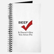 Beef=No Avian Flu Journal