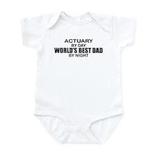World's Greatest Dad - Actuary Infant Bodysuit
