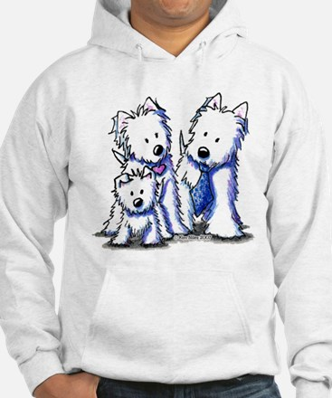 Father's Day Westies Hoodie