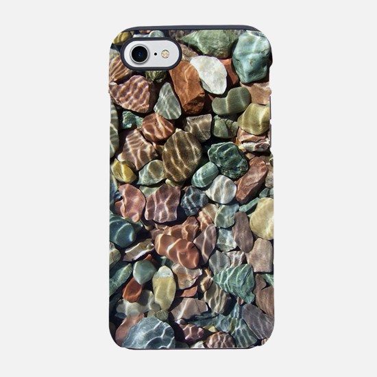 Sunny Lake Rocks iPhone 7 Tough Case