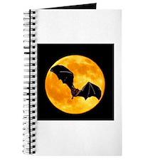 BLACK BAT SILHOUETTE Journal