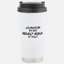 Deadly Ninja by Night - Junior Travel Mug