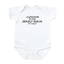 Deadly Ninja by Night - Junior Infant Bodysuit