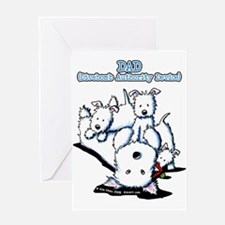 Father's Day Westies Greeting Card