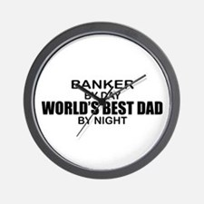 World's Greatest Dad - Banker Wall Clock