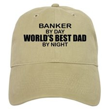 World's Greatest Dad - Banker Baseball Cap