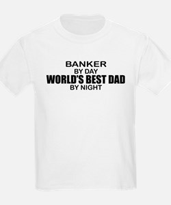 World's Greatest Dad - Banker T-Shirt