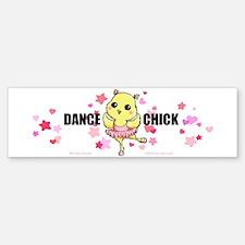 DANCE CHICK Bumper Bumper Sticker