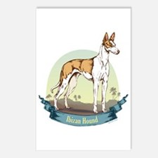 Ibizan Hound: Banner Series Postcards (Package of