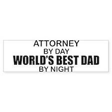 World's Greatest Dad - Attorney Bumper Sticker