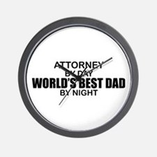 World's Greatest Dad - Attorney Wall Clock