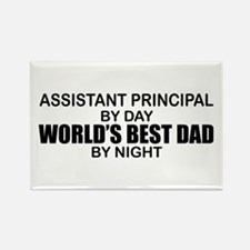 World's Greatest Dad - Asst Principal Rectangle Ma