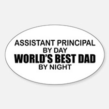 World's Greatest Dad - Asst Principal Decal